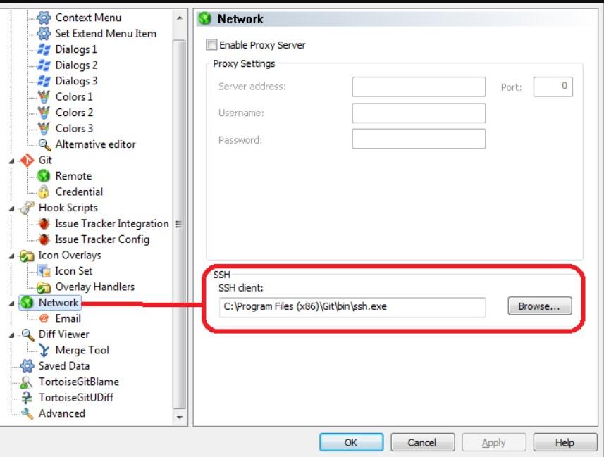 TortoiseGit免SSH key配置